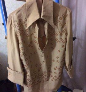 Блузка с запанками (Итальянская)