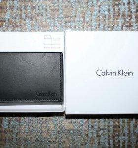 Новый кошелек Calvin Klein кожаный
