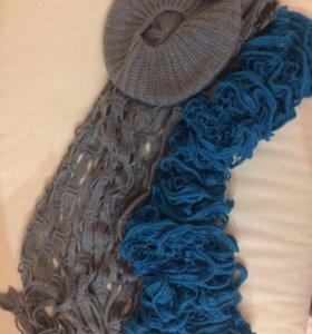 Берет и шарфы