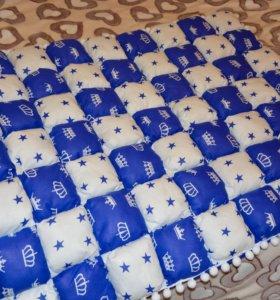 Детское одеяло( плед, коврик)107*84