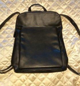 Рюкзак кожаный новый!