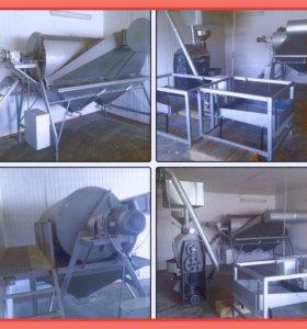 Оборудование для обжарки семечек и орешков кофе