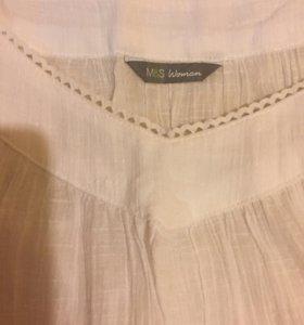 Платье M&S 100% хб