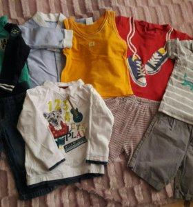 Пакет одежды на мальчика (на лето)