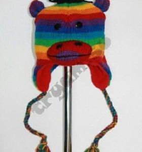Шапка Обезьяна Rainbow новая