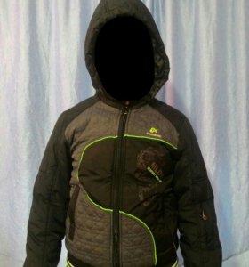 Куртка-ветровка на мальчика 7-9 лет