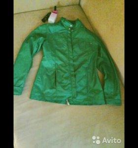 Куртка в хорошем состоянии, на 46 тоже пойдет