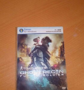 TOM CLANCY'S. GHOST RECORN FUTURE SOLDIER