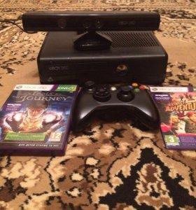 Продаю XBOX 360 с Kinect