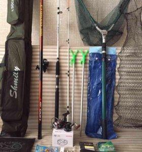 """Набор для рыбалки """"спиннинг + удочка"""""""