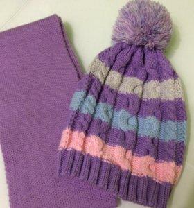 Шапочка+шарф