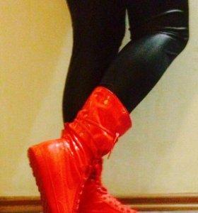 Найк ботинки, кроссовки, сапоги 25см по стельке