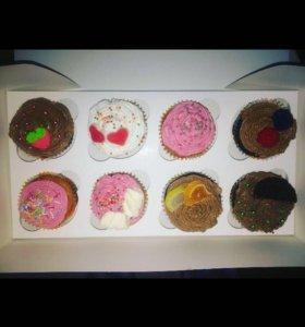 Капкейки,торты,кейк попсы и многое другое на заказ