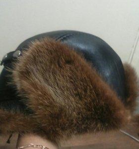 Зимний шапка кожные норка