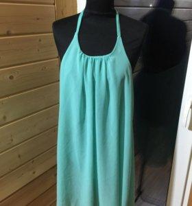 Пляжное платье туника новое