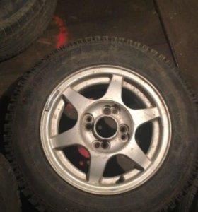 Зимние колёса в сборе R 13