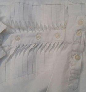 Детские блузки р122-128 (рубашки)