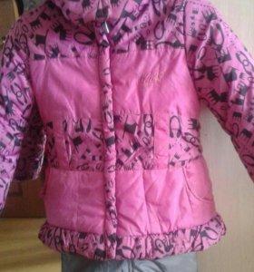 Куртка и комбинезон на 6-8лет