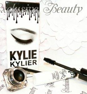 Kylie Тушь(объем, удлинение)+Подводка с кисточкой