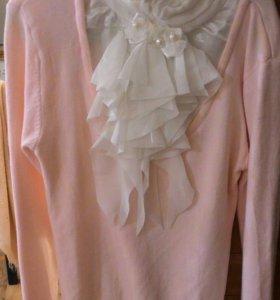 Кофта+блузка детская