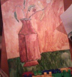 Рисунок ручной работы