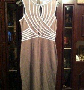 Платье трикотажное, новое