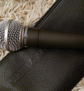 Новый микрофон Shure SM58-LCE