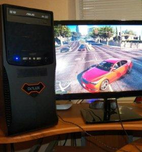 Игровой ПК 2 монитора GTX 960