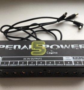 Блок питания гитарных педалей Caline Power CP-05