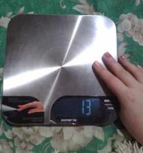 Весы кухонные, бытовые электронные