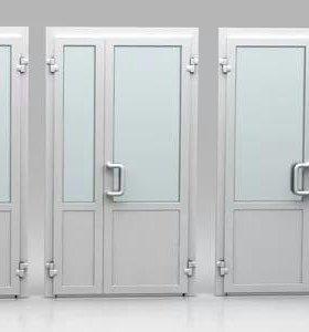 Пластиковые двери входные и межкомнатные