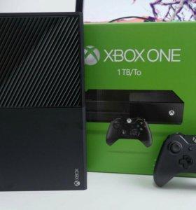 Новые Xbox one 1TБ +kinect2.0 +игры 10