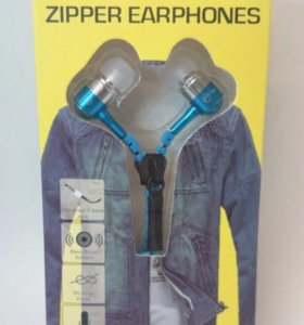 Наушники Zipper на молнии