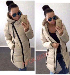 Куртка пуховик зима новый