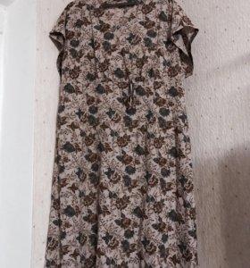 Натуральный хлопок платье