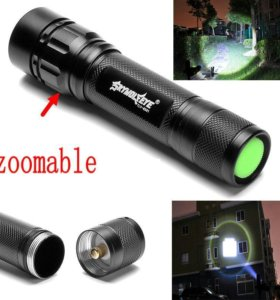 Светодиодный фонарик 3000 lumen