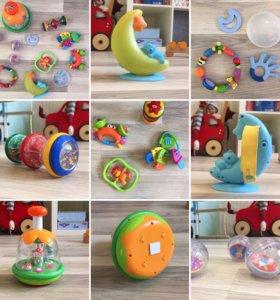 Фирменные игрушки для малышей, 12 предметов