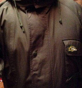 Продам шикарную куртку хаки