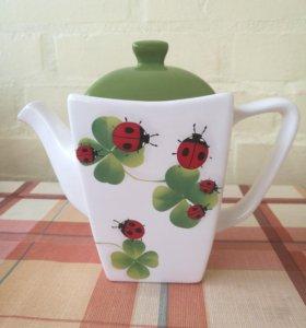 Заварочный чайник+сахарница