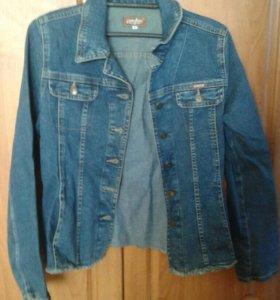 Джинсовый пиджак 42р