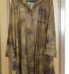 Пальто натуральная кожа.