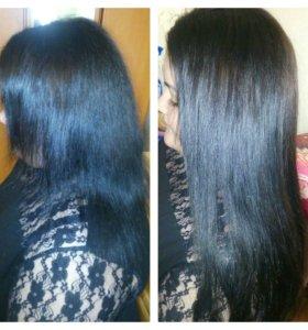 Наращивание волос.Волосы.