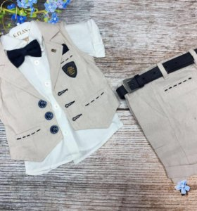 Костюм , шорты пиджак и рубашка