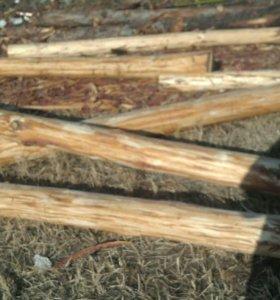 Столбы листвяные