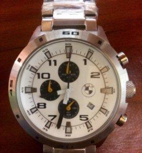 Часы BMW .. новые. стальной ремень