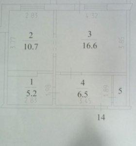 Квартира 40,5м2
