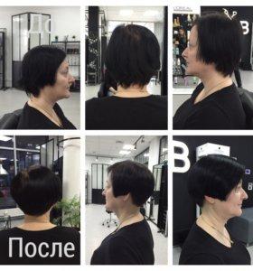 Стрижка, снятие сеченного волоса