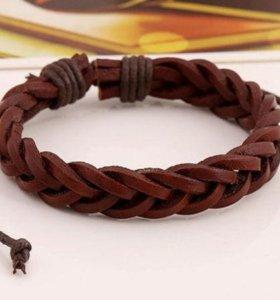 Кожаный браслет N 3