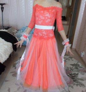 Бальное платье стандарт Юниоры 1.