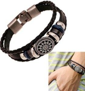 Кожаный браслет N 7